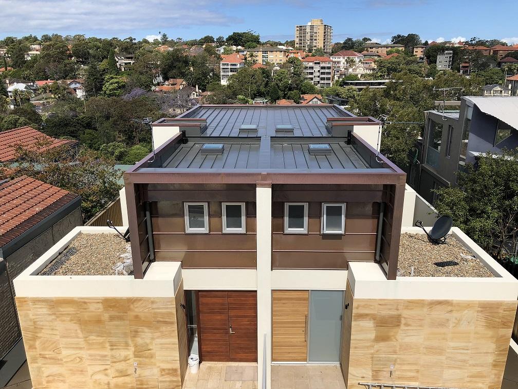 Mosman Private Residence Metal Roof