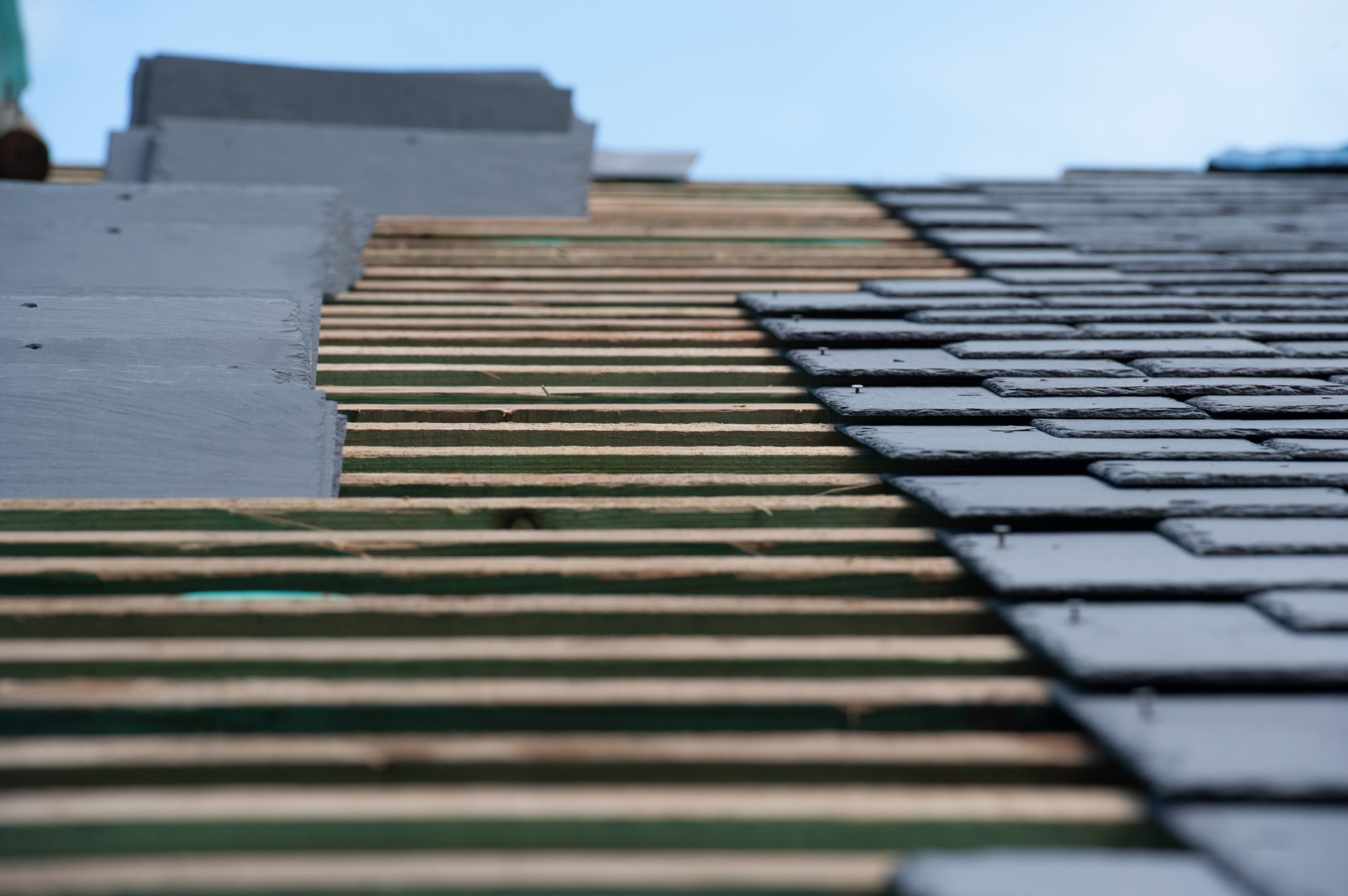 Construction of Slate Roof