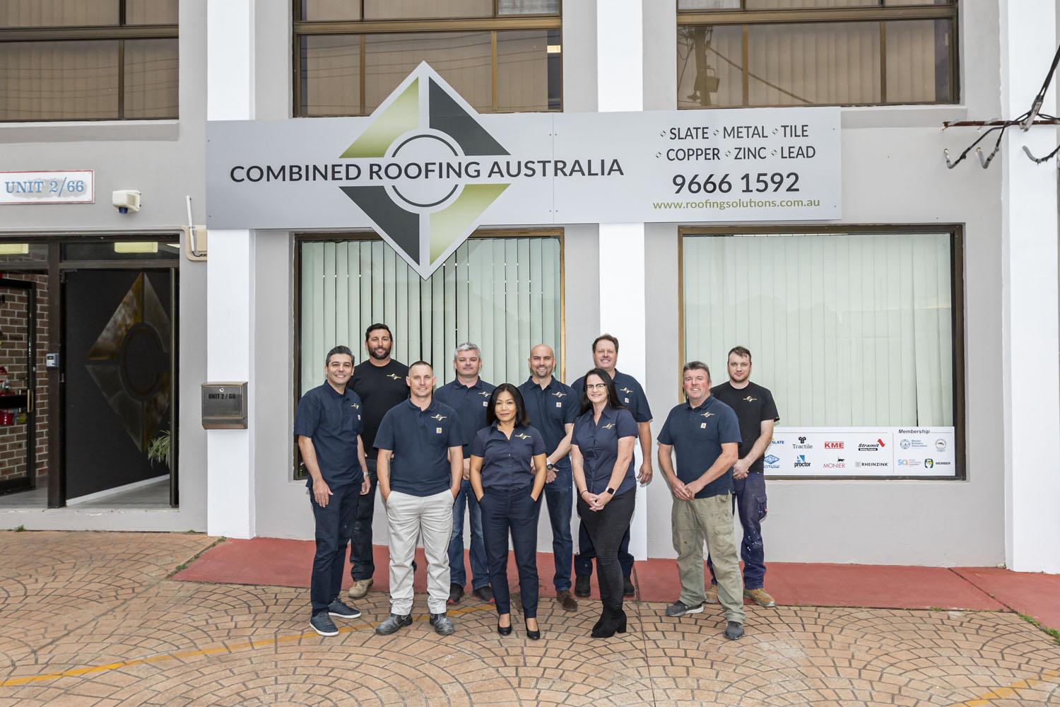 Combined Roofing Sydney Location and Team